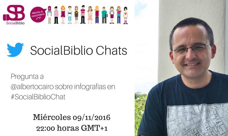 SocialBiblio Chat Alberto Cairo