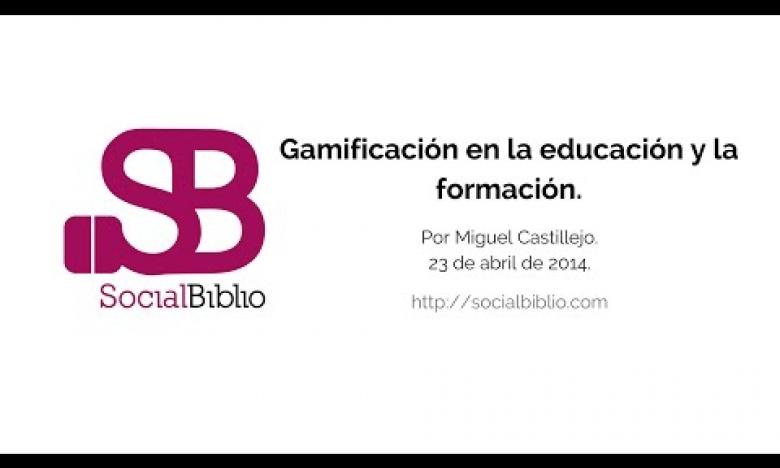 Embedded thumbnail for Gamificación en la educación y la formación