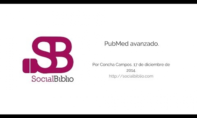 Embedded thumbnail for Pubmed avanzado