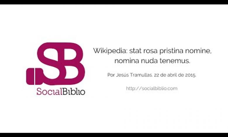 Embedded thumbnail for Wikipedia: Stat rosa pristina nomine, nomina nuda tenemus