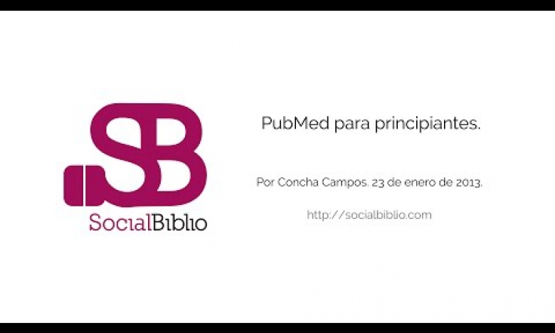 Embedded thumbnail for Pubmed para principiantes