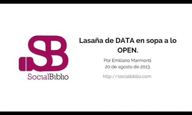Embedded thumbnail for Lasaña de DATA en sopa a la OPEN