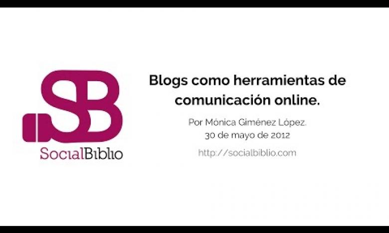 Embedded thumbnail for Blogs como herramientas de comunicación online