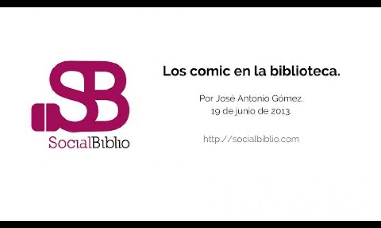 Embedded thumbnail for Los cómic en las bibliotecas