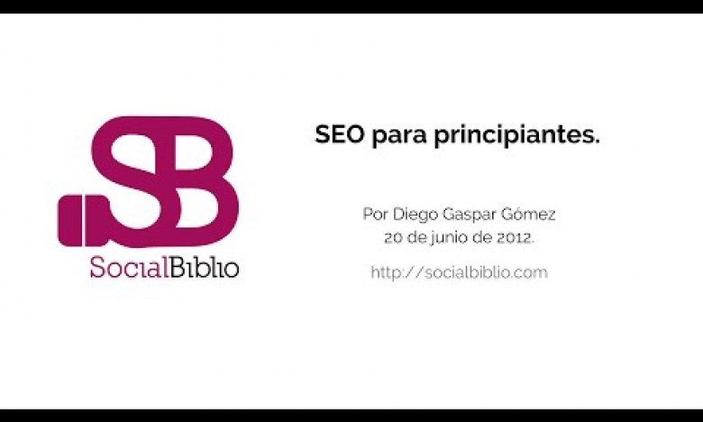 Embedded thumbnail for SEO para principiantes