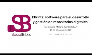 Embedded thumbnail for EPrints: software para el desarrollo y gestión de repositorios digitales