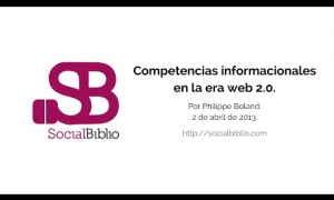 Embedded thumbnail for Competencias informacionales en la era web 2.0