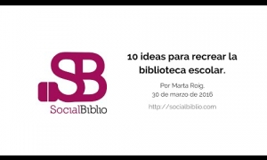 Embedded thumbnail for 10 ideas para recrear la biblioteca escolar