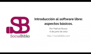 Embedded thumbnail for Introducción al software libre: aspectos básicos