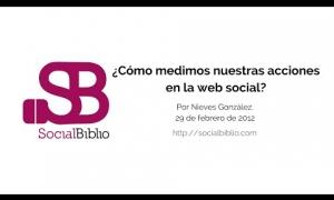 Embedded thumbnail for ¿Cómo medimos nuestras acciones en la web social?