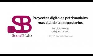 Embedded thumbnail for Proyectos digitales patrimoniales, más allá de los repositorios