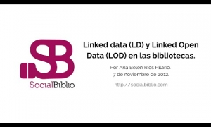 Embedded thumbnail for Linked Data (LD) y Linked Open Data (LOD) en las bibliotecas